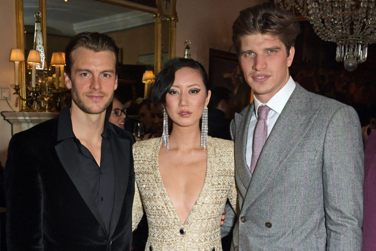 Miles Bugby, Betty Bachz and Toby Huntington-Whiteley
