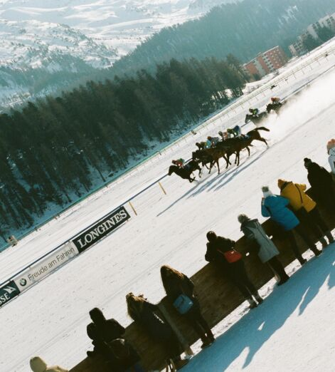 The White Turf St Moritz is Ascot in furs — and a hell of a lot of fun