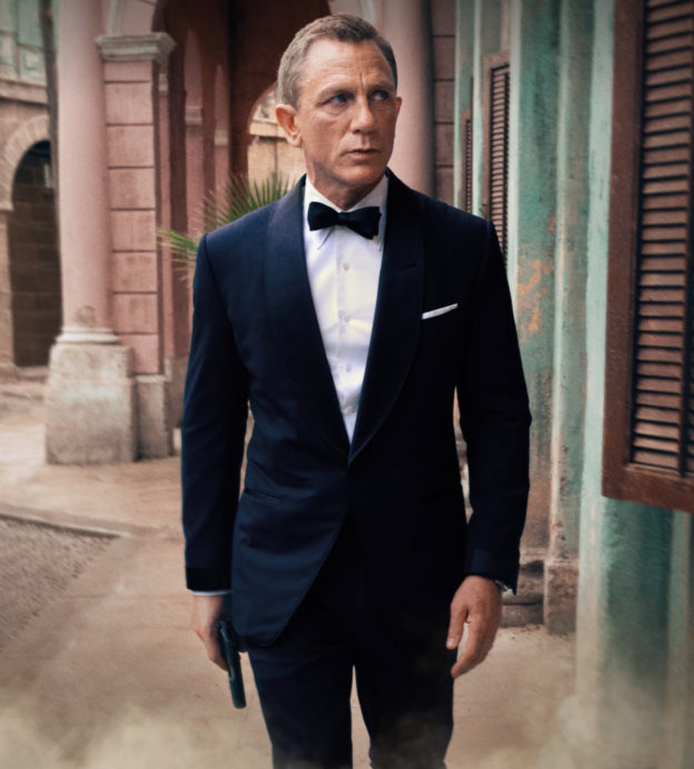 The suits we'd love to see on Bond in No Time To Die
