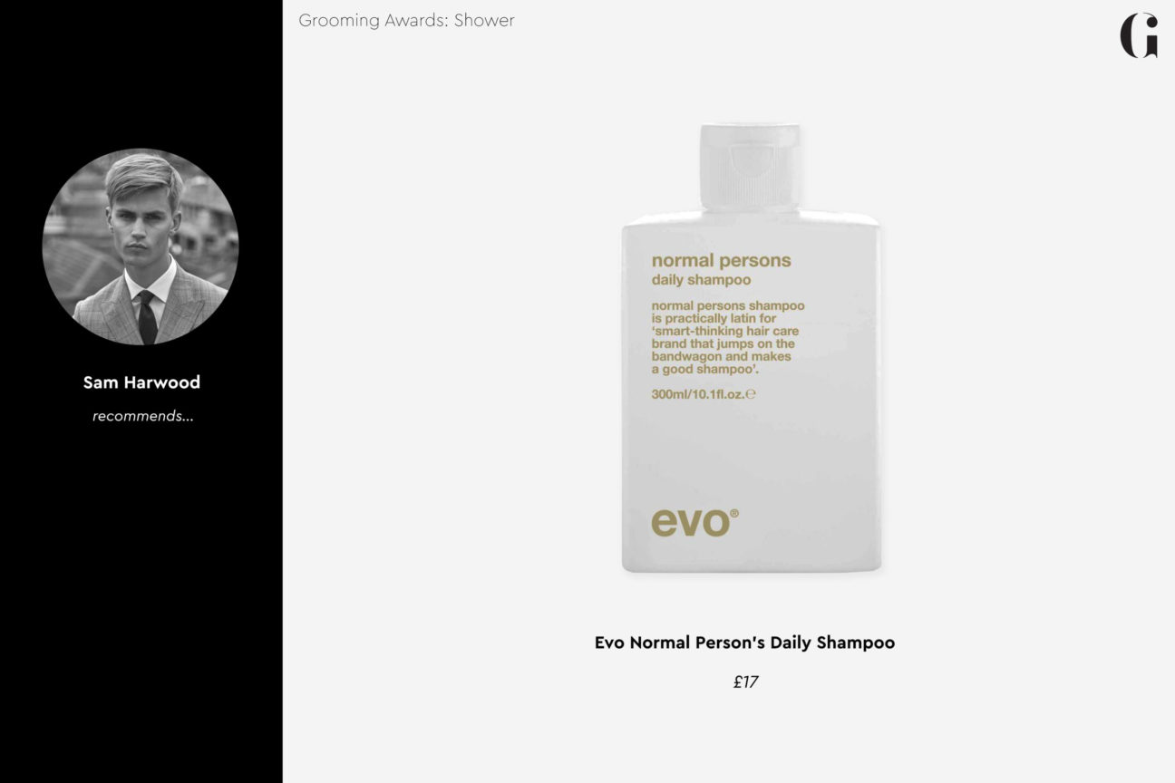 Gentleman's Journal Grooming Awards 2020: Shower