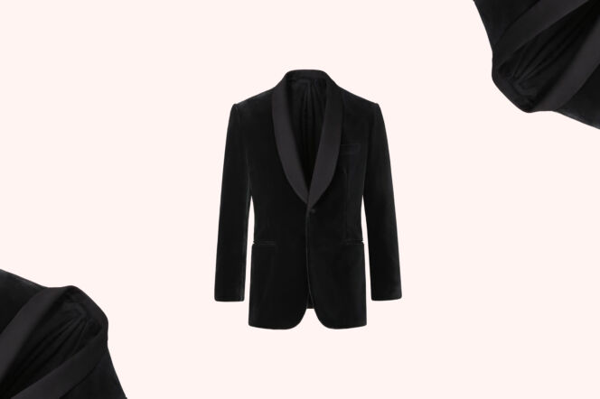 Brioni Grey Evening Jacket