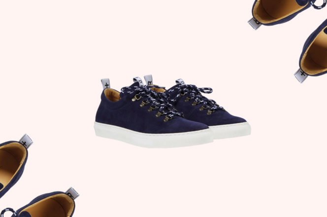 Duke + Dexter Drake Navy Hiker Sneakers