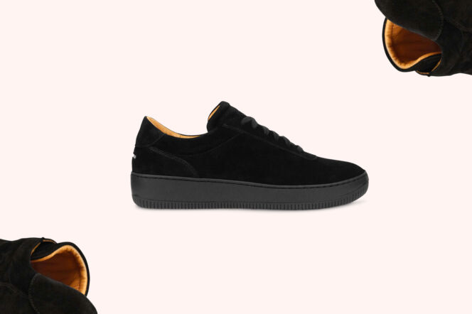 Unseen Footwear Saviour in Suede Black