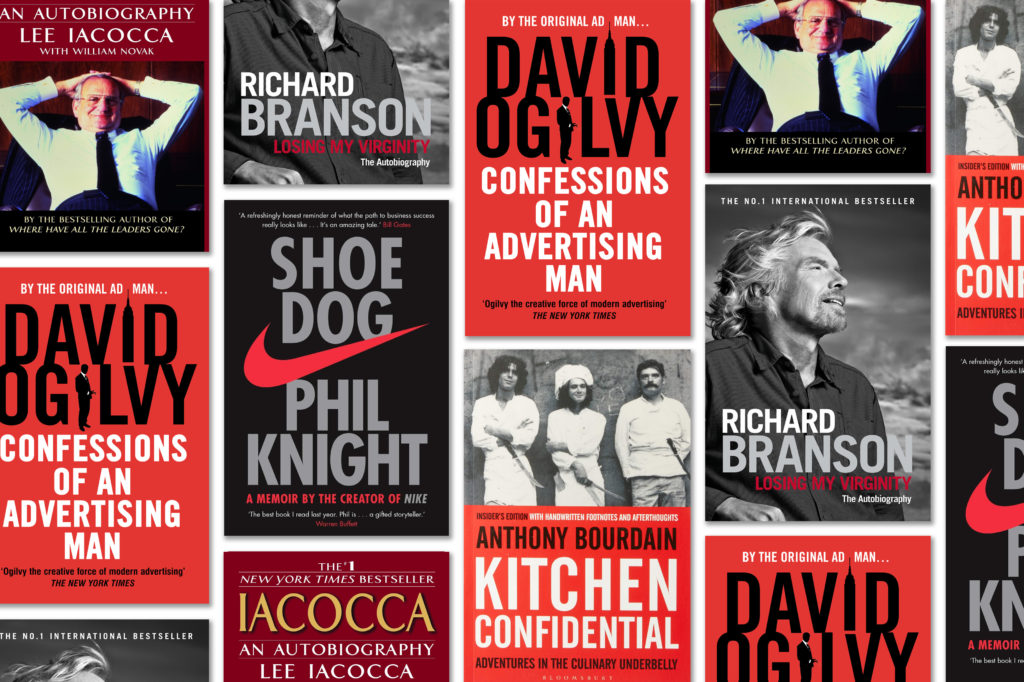8 business autobiographies you'll actually learn something from