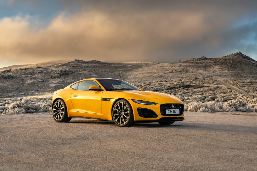 Behind the wheel of the new Jaguar F-Type R Coupé