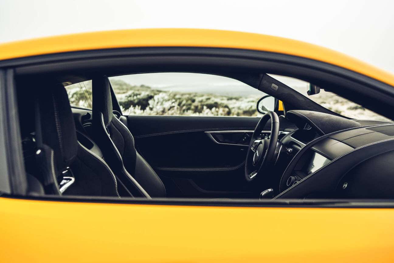 Behind the wheel of Jaguar's new F-Type R Coupé