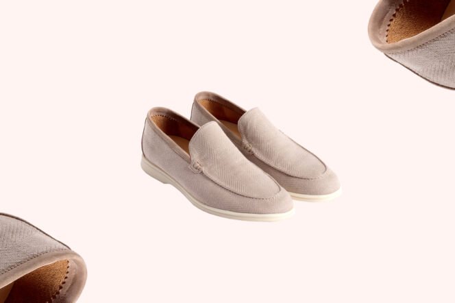 Loro Piana Summer Walk Moccasins