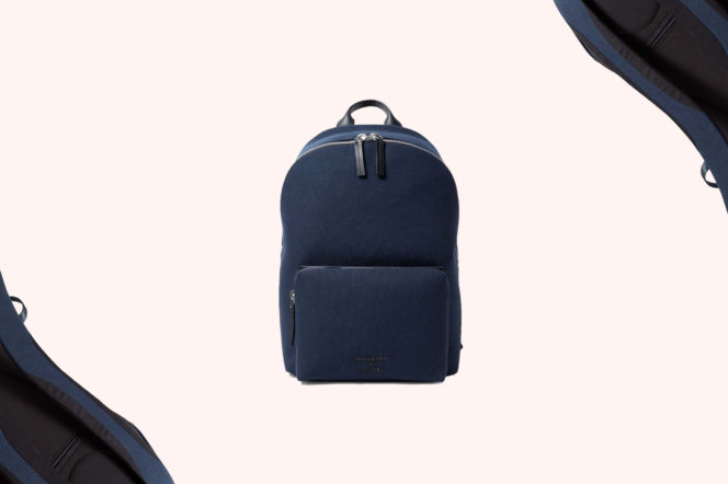 Troubadour and Sunspel Technical Canvas Backpack