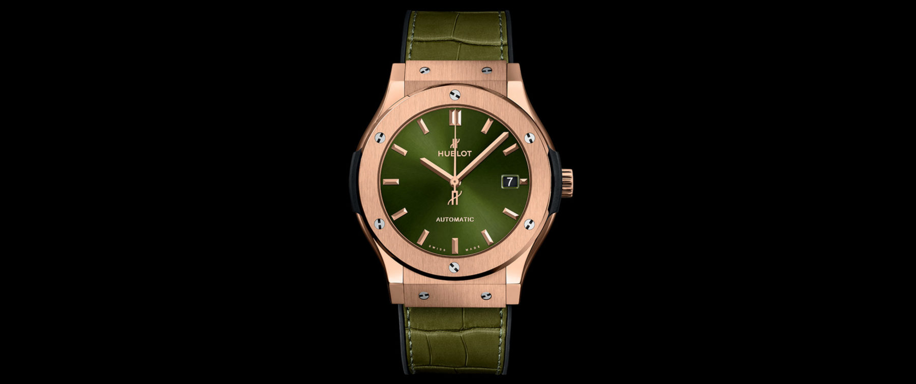 Hublot Classic Fusion King Gold Green
