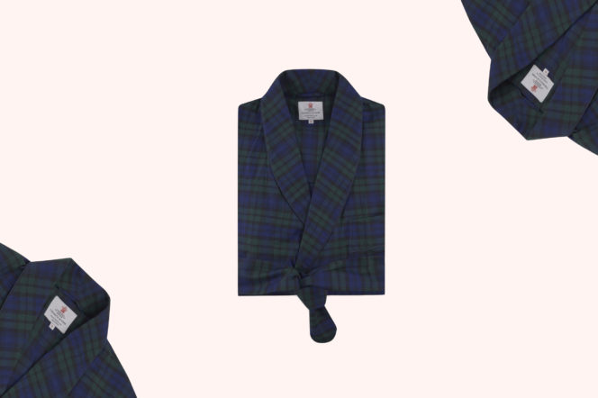 Turnbull & Asser Blackwatch Cotton Gown