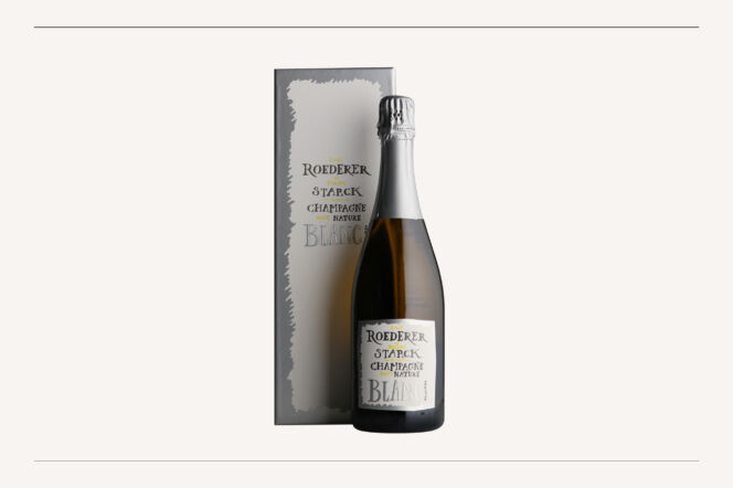 Louis Roederer et Phillipe Starck Brut Nature 2012
