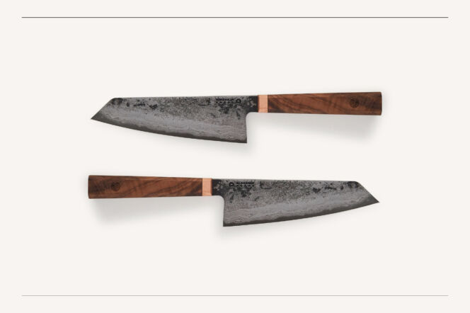 Blenheim Forge Santoku Knife