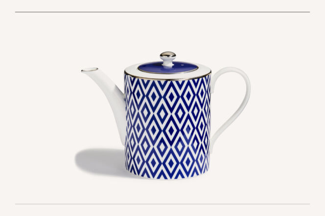 Halcyon Days Aragon Midnight Teapot
