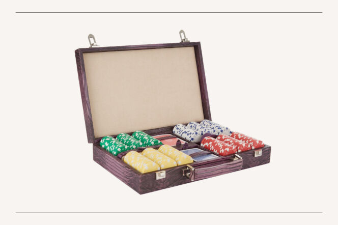 Arte Pellettieri poker set
