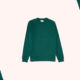 Oliver Spencer Teal Green House Sweater