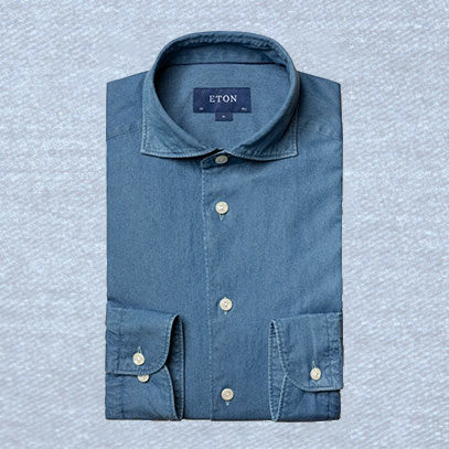 Denim shirts are more refined than you think