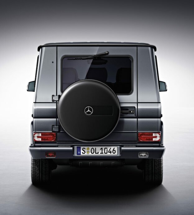 What makes the Mercedes-Benz G-Wagen such an iconic design?
