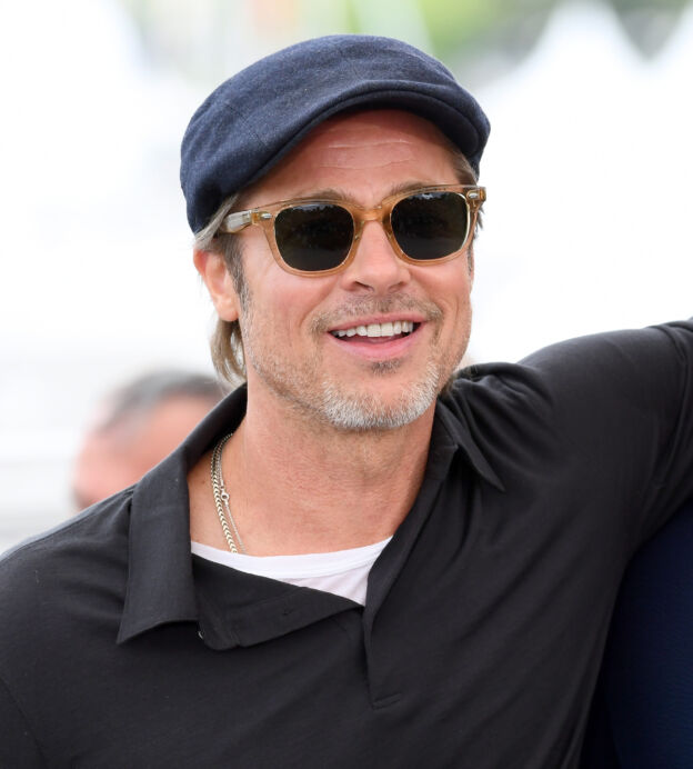 "CANNES, FRANCE - MAY 22: Brad Pitt and Leonardo DiCaprio attend the photocall for ""Once Upon A Time In Hollywood"" during the 72nd annual Cannes Film Festival on May 22, 2019 in Cannes, France. (Photo by Gareth Cattermole/Getty Images)"