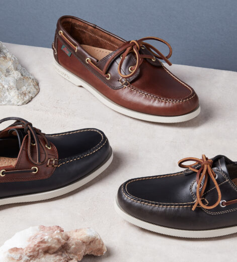 Slip on the best in summer boat shoes from G.H. Bass & Co