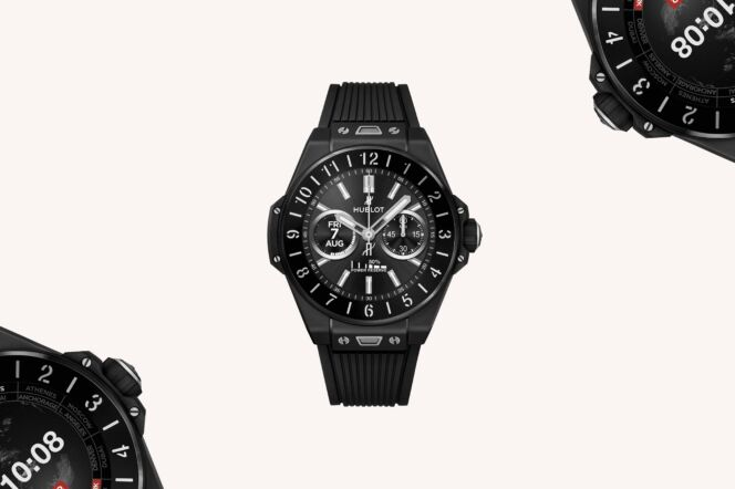 Hublot Big Bang e Black Ceramic Smartwatch