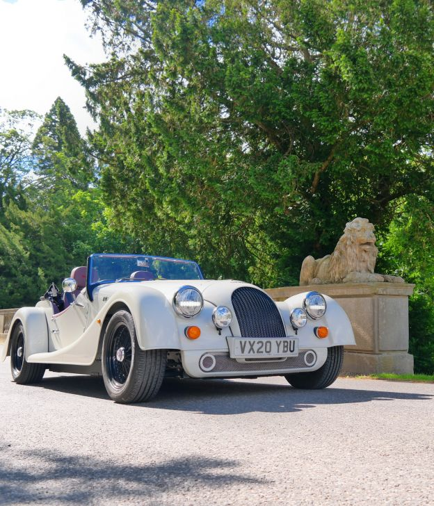 morgan plus four road test review