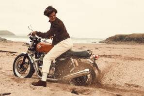 royal enfield interceptor 650 cornwall beach roadtrip review