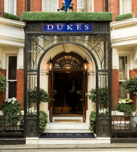 dukes bar hotel st james's