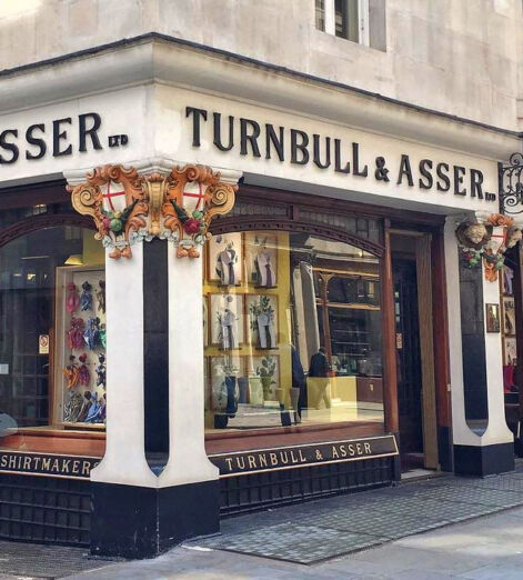 turnbull and asser shirtmakers jermyn st james's