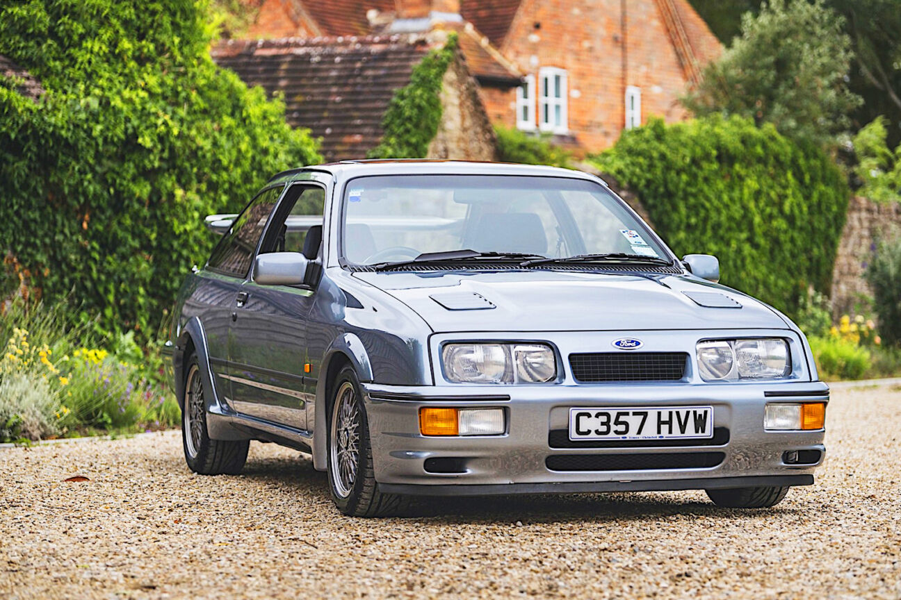 best classic car investment ford sierra cosworth