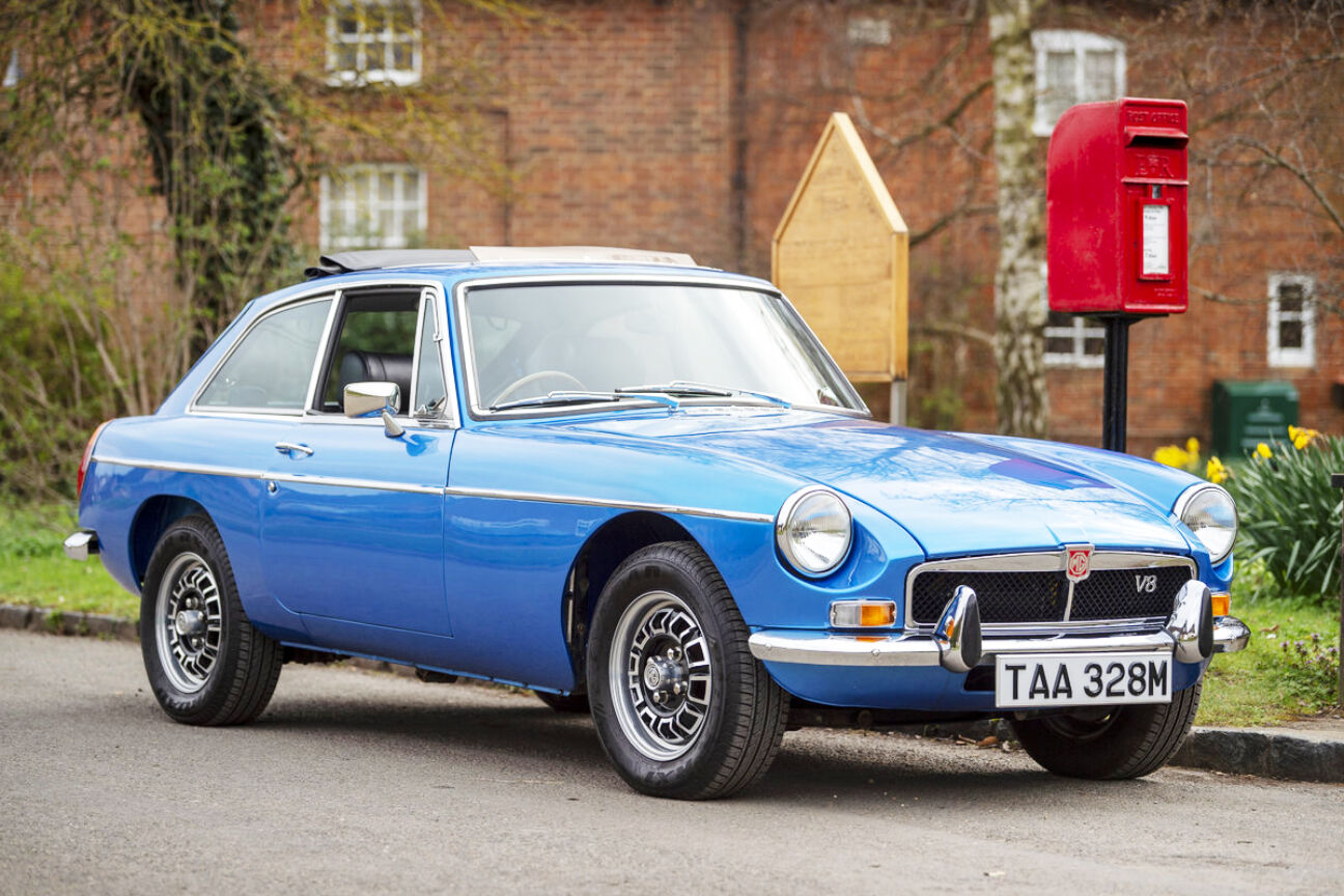 best classic car investment mgb gt