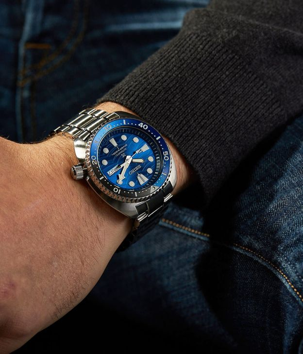 seiko turtle dive diving watch collection timepiece