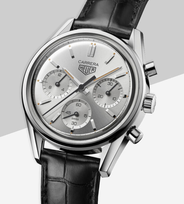 TAG Heuer Carrera 160 Years Silver Edition