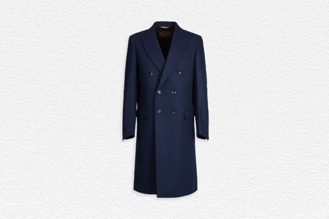 Tod's Double-Breasted Overcoat