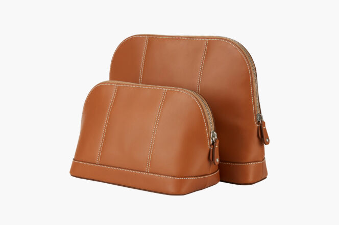 Connolly 1904 leather washbag