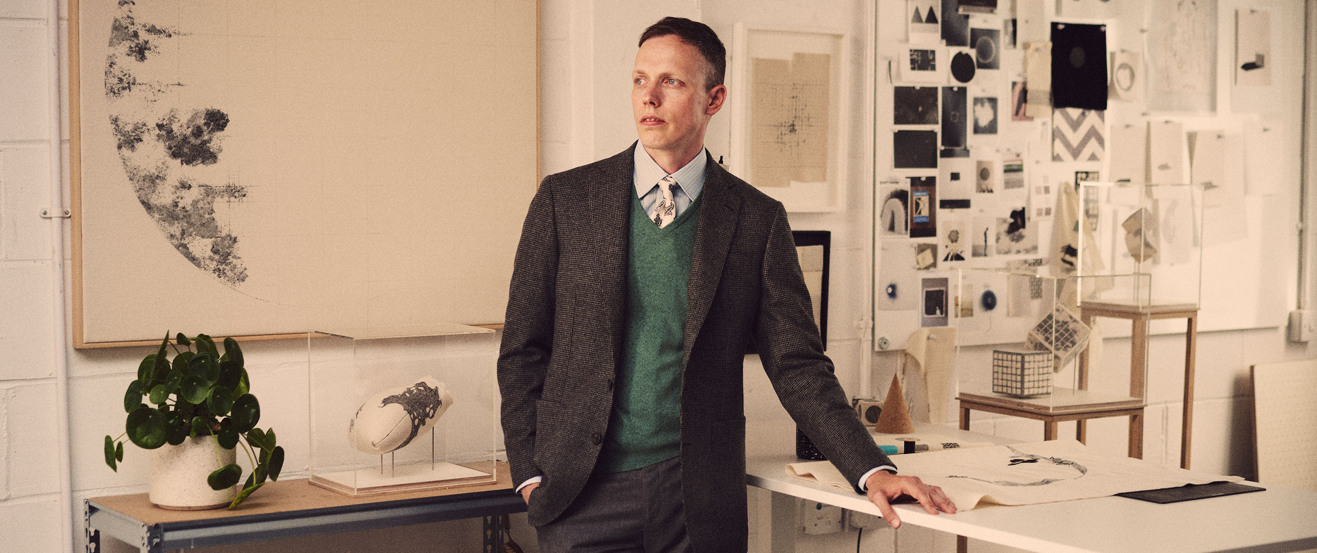 The Turnbull & Asser AW20 collection is all about creativity and connection