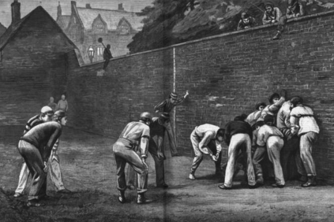 wall game sam leith history eton college