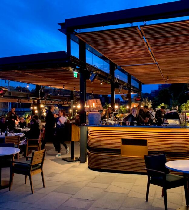 These are London's 10 best outdoor restaurants