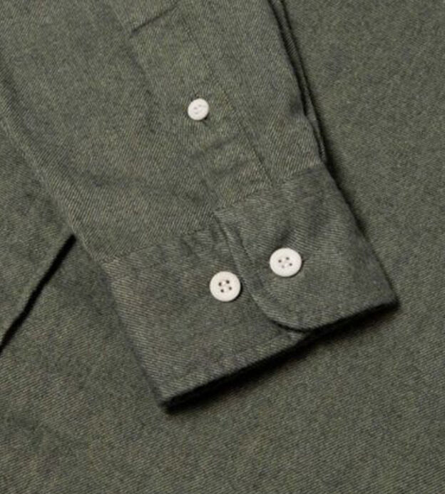sunspel brushed cotton shirt