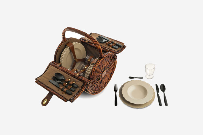 Alessi Dressed En Plein Air Picnic Set