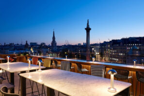 best restaurants outdoor seating london