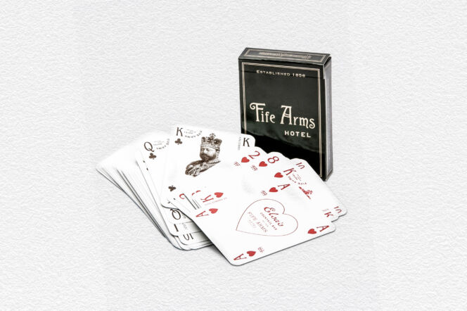 The Fife Arms Playing Cards