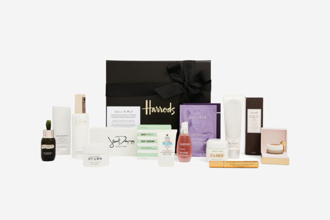 harrods skinfluencer hamper