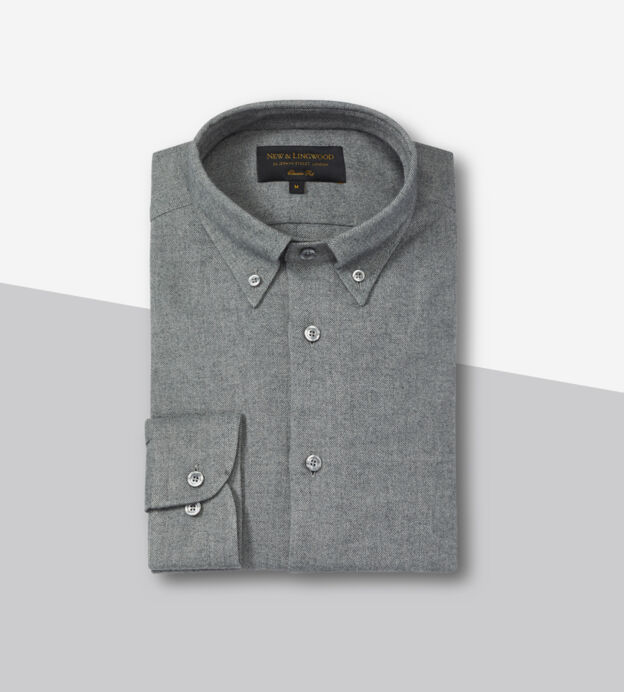 brushed cotton shirt new lingwood
