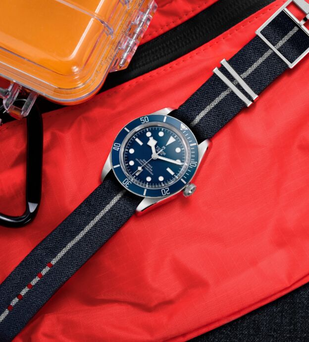 tudor black bay fifty-eight navy blue chronometer watch review gentlemans journal collection
