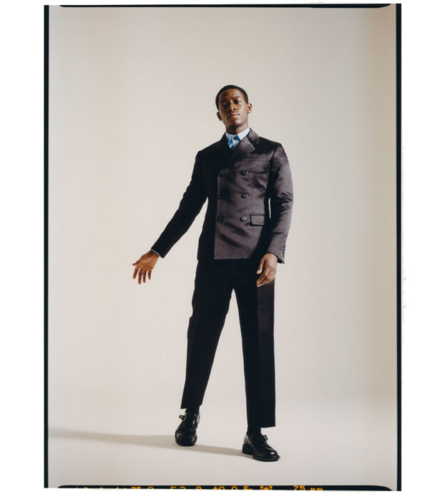 Damson Idris is on his game