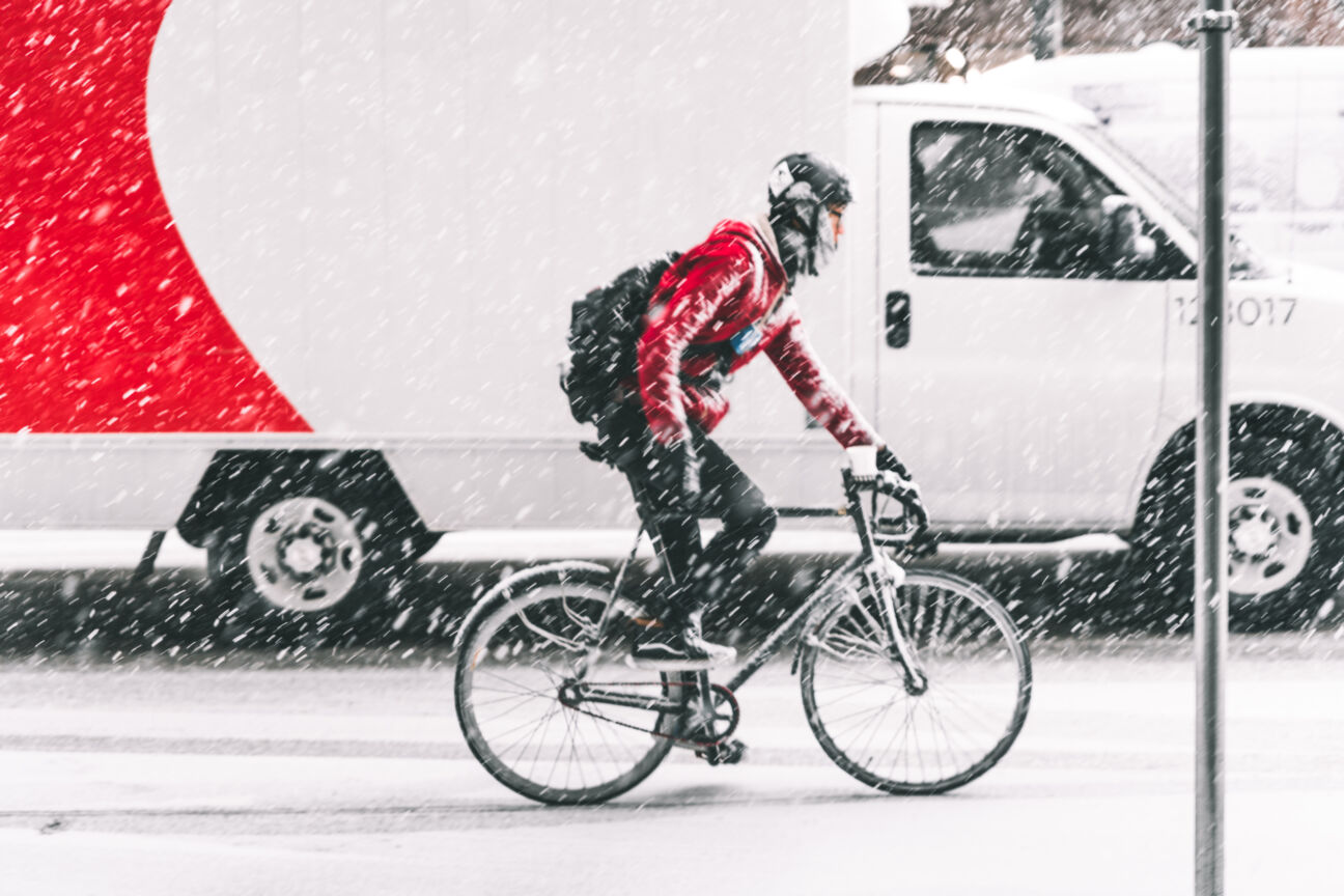 Here's how to adapt your bicycle for winter