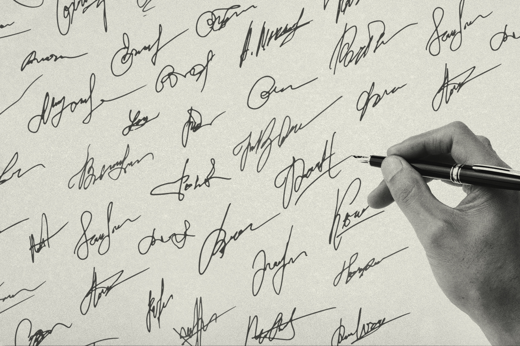 What does your signature say about you? | Gentleman's Journal
