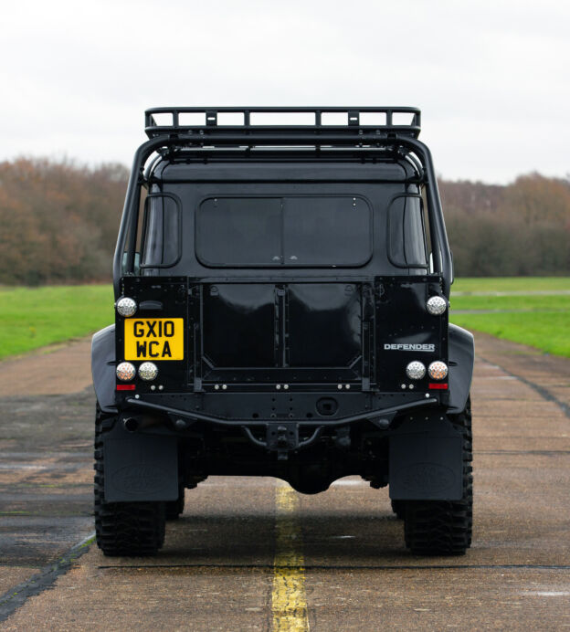 Now's your chance to own a James Bond Land Rover Defender