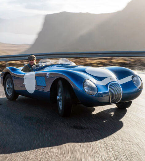 Ecurie Ecosse brings the Jaguar C-Type roaring back to life