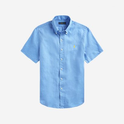 How to style a short sleeve shirt this summer